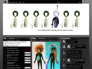 Официальный сайт Massive Attack